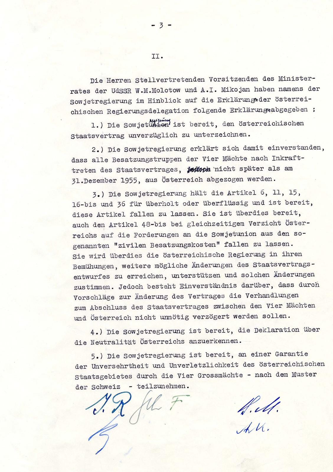 Moskauer Memorandum 1955 österreichische Unesco Kommission