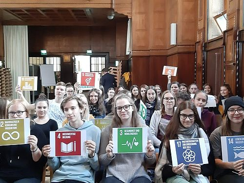 Reihe: Turning point. Youth for sustainable development