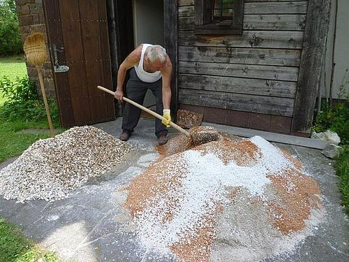 Production of Traditionally Hand-Crafted Terrazzo